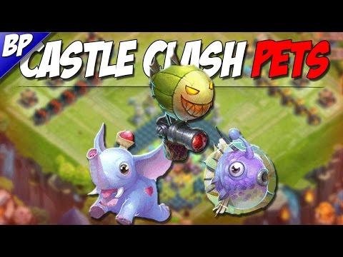 Castle Clash Pets