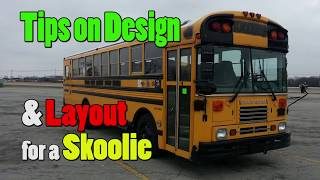 Designing a Layout for a Skoolie (school bus conversion)