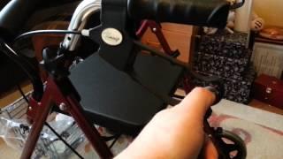 Подробный обзор коляски для взрослых (ролятора) Тимаго 882 (видео)