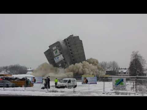 Sprengung Weißer Riese Kamp-Lintfort 19.12.2010