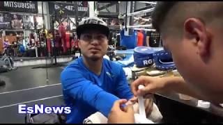 Mikey Garcia Charlo Beats GGG & Talks Canelo vs GGG EsNews Boxing