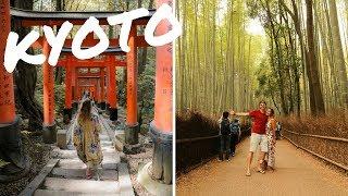 KYOTO IN ONE DAY - Fushimi Inari, Bamboo Forest & Snow Monkeys!