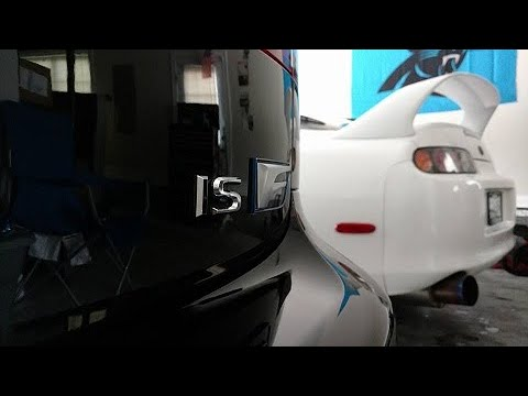 FIGS FLCA bushing install and review (2012 Lexus ISF)