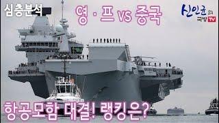영국 · 프랑스 항공모함 vs 중국 항공모함, 전력비교!