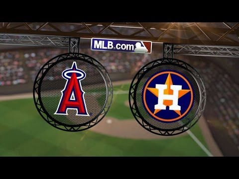 4/4/14: Trout, Hamilton power Angels to an 11-1 win