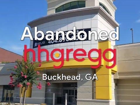 Abandoned Hhgregg - Buckhead, GA (ft.  Waffle House)