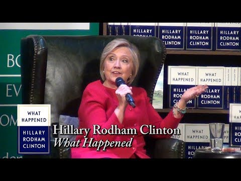 "Hillary Rodham Clinton, ""What Happened"""