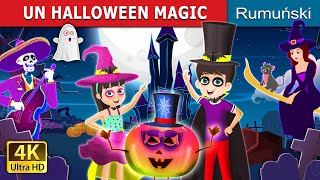 UN HALLOWEEN MAGIC | A Magical Halloween Story | Romanian Fairy Tales