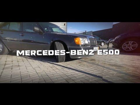 Mercedes Benz 500 E 1992год /// Волчок!