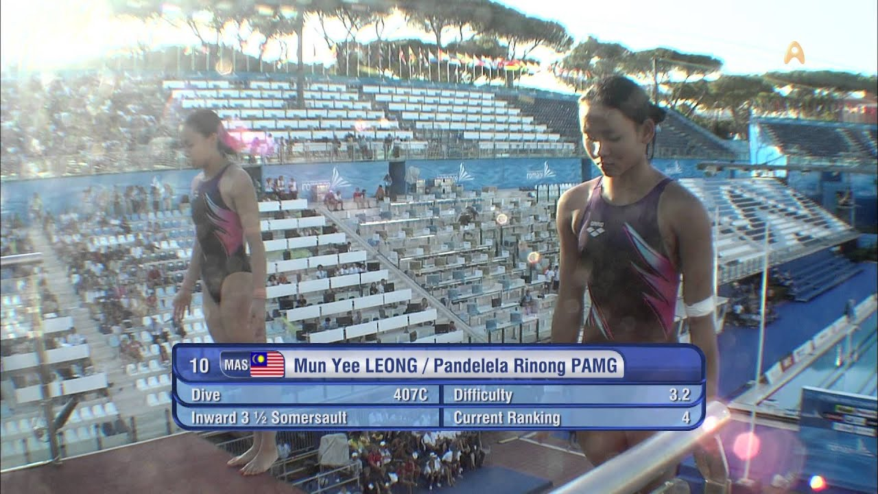 NAKED DIVERS COMPETE IN ROME - YouTube