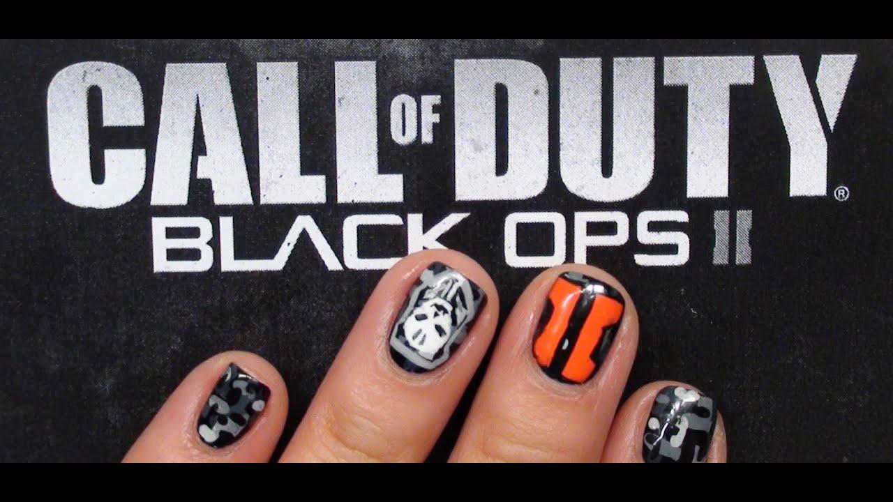 Black ops ii nail tutorial youtube black ops ii nail tutorial prinsesfo Images
