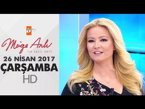 Müge Anlı İle Tatlı Sert 26 Nisan 2017...
