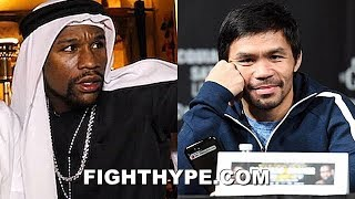 """MAYWEATHER KILLS PACQUIAO REMATCH RUMOR ABOUT SAUDI ARABIA TALKS: """"OLD VIDEO...NEVER BE A REMATCH"""""""