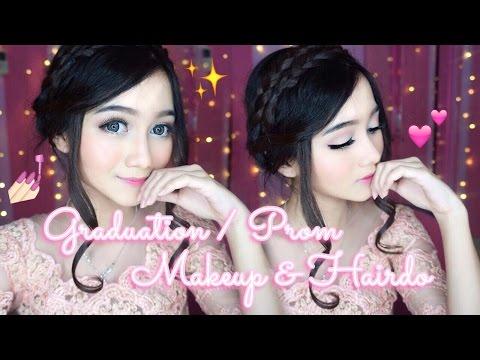 Graduation / Prom Makeup & Hairdo Tutorial    MAKEUP WISUDA [BAHASA]
