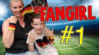 Lulu wird DEUTSCHLAND FANGIRL 😍 Fussball WM 2018 - Lulu & Leon - Family and Fun