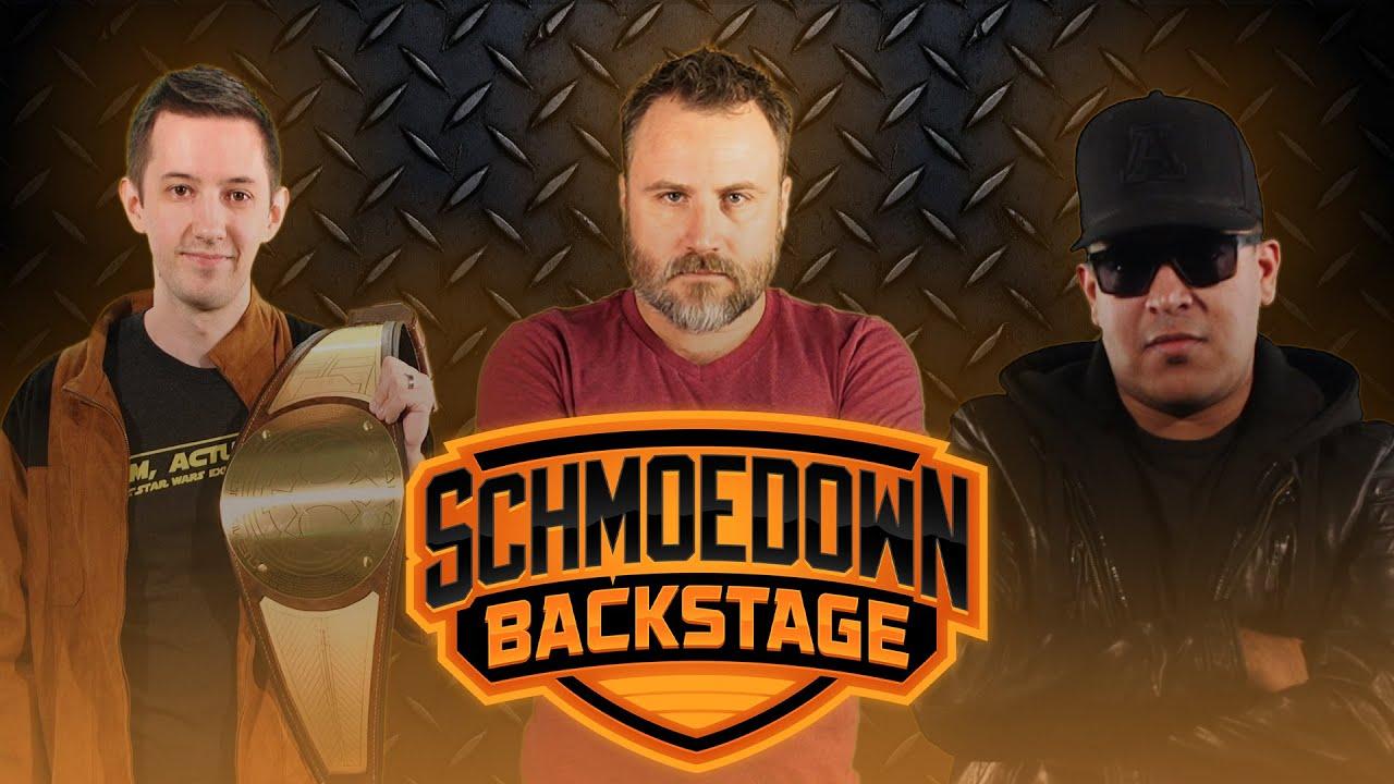 Schmoedown Backstage #54: - Spectacular Preview w/ Alex Damon, Brett Sheridan & Chance Ellison
