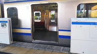 【JR東日本】千葉支社初 新小岩駅ホーム柵 稼働初日レポート