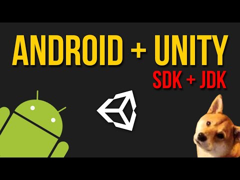 How To Set Up Android SDK + JDK With Unity 2018