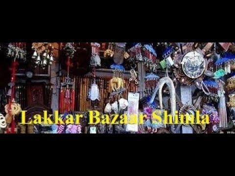 Lakkar Bazar Shimla, Himachal Pradesh | Shimla Shopping Market | Yummy Foodpath