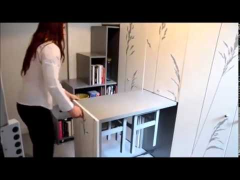 Amnagement Incroyable DUn Petit Appartement  Youtube