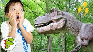 レオくんが恐竜の世界で大冒険? トイキッズ