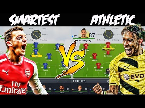 WHAT IF THE SMARTEST TEAM PLAYED THE MOST ATHLETIC TEAM? 🤔 FIFA 17 EXPERIMENT - ALEX MORGAN FORFEIT