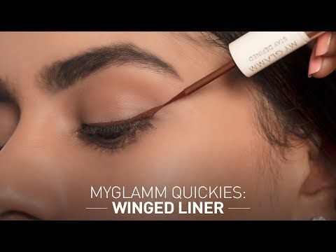 MyGlamm Quickies : Winged Liner