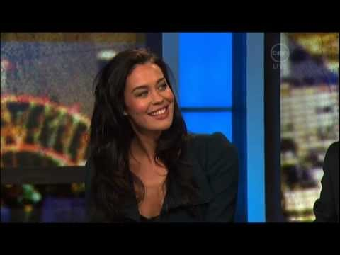 Megan Gale interview on The 7pm Project (2011) - L'Oreal