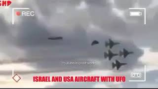 Shocking footage usa airforce n secret government ufo bomb togther syira  January 15th 2019