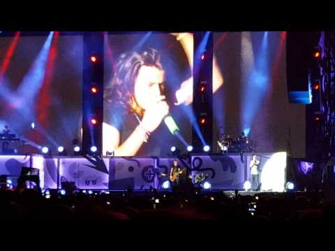 Liam talking and No Control - One Direction Otra Cleveland