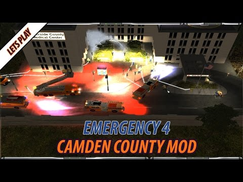 Emergency 4 Camden County Mod -  Episode 1 - Hospital On Fire!