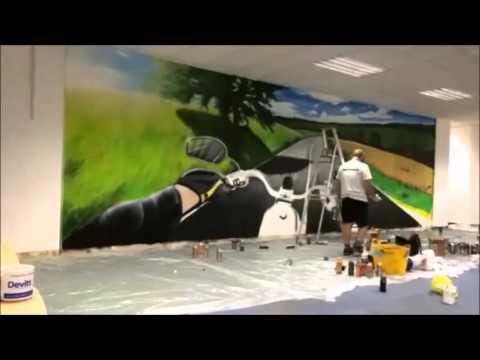 Devitt Insurance Motorbike Mural