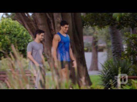 David and Aaron scene 2 ep 7654