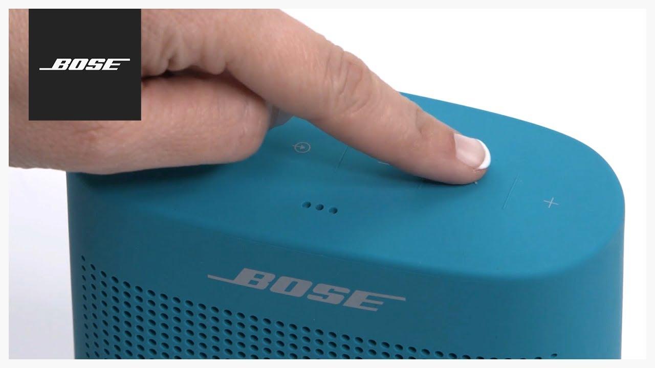 Bose SoundLink Color II Using The Speakerphone