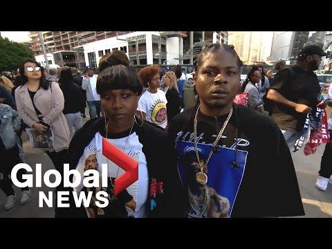 Nipsey Hussle funeral: Thousands of fans attend rapper's memorial