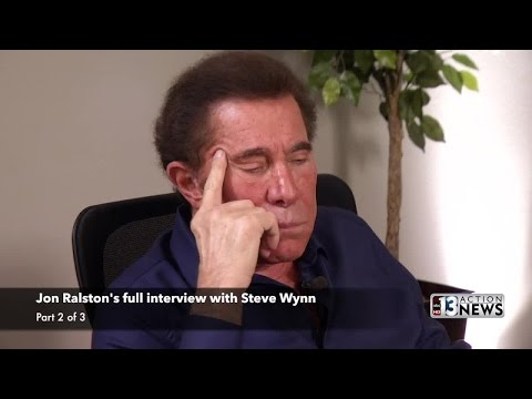 Jon Ralston's full interview with Steve Wynn: Part 2