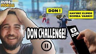 DON CHALLENGE ! (BAN YİYORDUK!) PUBG Mobile TROLL