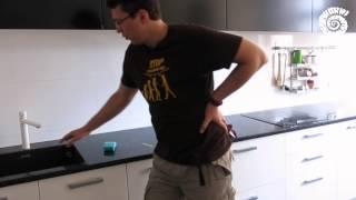 Уход за кухонная столешница из гранита и мрамора. Чем чистить гранитную мойку (раковину из камня)(, 2015-09-14T21:45:21.000Z)