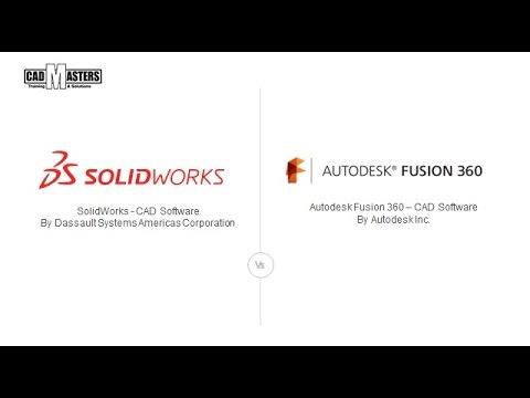 SolidWorks Vs Autodesk Fusion 360 | CAD Masters