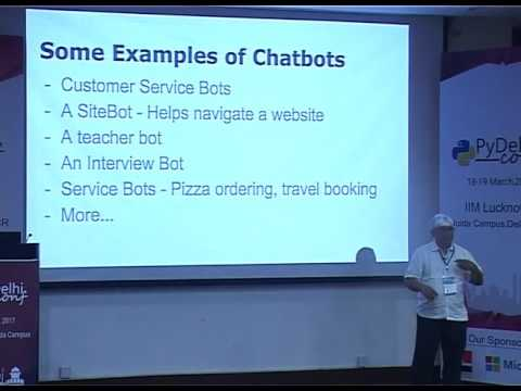 Building chatbots with Python/Django