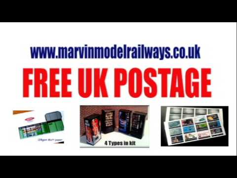 Marvin Model Railway Accessories – Model Railway Scenery