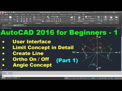 AutoCAD 2016 Tutorial