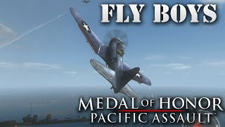 "Medal of Honor: Pacific Assault. Part 10 ""Fly Boys"""