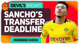 Sancho Transfer Deadline Threat! Man Utd Transfer News