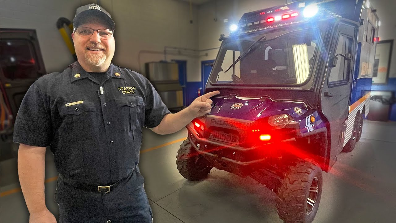 What's INSIDE a $50,000 ATV AMBULANCE