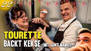 Tourette Weihnachtskekse backen mit Jans Mama
