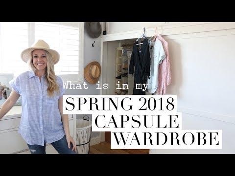 SPRING 2018 CAPSULE WARDROBE!