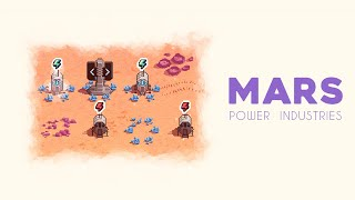 Mars Power Industries - A Space Colony Puzzle
