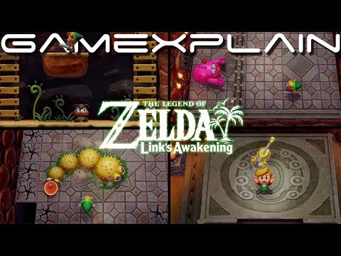 Zelda: Link's Awakening – First Dungeon Playthrough & Defeating Moldorm! (Nintendo Switch)