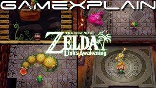 Zelda: Link's Awakening – First Dungeon Playthrough & Defeating Moldorm! (Nintendo Switch)